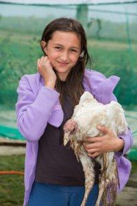 Eine kleine Landwirtschaft gehört auch zu unserem Kinderheim. (Foto: Achim Pohl)