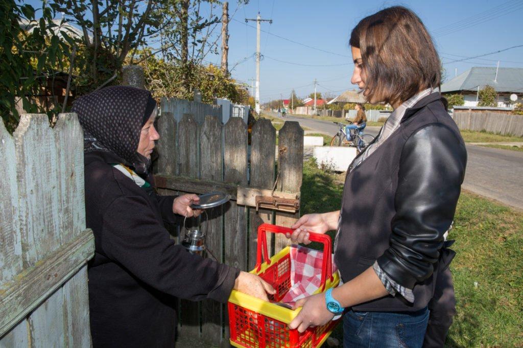 Wo das Geld knapp ist, herrscht in Rumänien auch heute noch Hunger. (Foto: Achim Pohl)