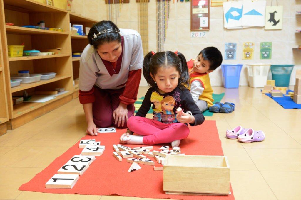 "Montessori-Kindergarten und -Grundschule ""Kinderhaus Santa Maria Magdalena Postel"", Cochabamba, Departamento Cochabamba, Bolivien; Foto: Florian Kopp/SMMP"